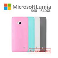 harga Soft Case / Softcase Microsoft Lumia 640 & 640 Xl Bonus Tempered Glass Tokopedia.com