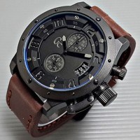 Jam Tangan Gc 6381 Leather (Alexandre Christie,Swiss Army,Expedition)