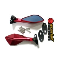 harga KACA SPION MOTOR FAIRING FULL CNC MERAH NINJA RR 150,MONO,250, R15,R25 Tokopedia.com