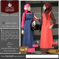 Latasati Gamis batik,Busana muslim batik fashion,Hijab style