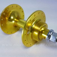 Hub Front S1X Fixie / Track High Flange 32H Gold