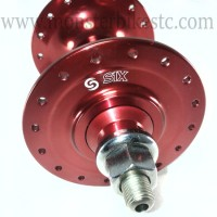 Hub Front S1X Fixie / Track High Flange 32H Red