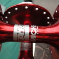 Hub Rear Miche Track High Flange 1x 32H RED