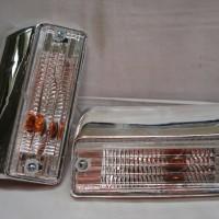 harga aksesoris lampu bumper depan kristal kijang grand Tokopedia.com