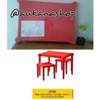 IKEA UTTER MEJA DAN KURSI BELAJAR ANAK