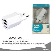 Adaptor AHHA Wolf Dual USB 2.4A