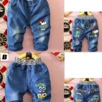 Celana Anak Jeans Tanggung 3/4 Snoopy