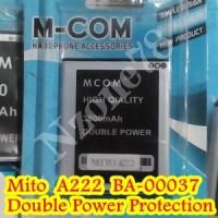 Baterai Mito A222 Ba-00037 Mcom Double Power Protection