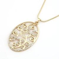 A21931 gold | kalung panjang import gaya korea koleksi ichika shop