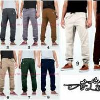 celana jogger pants size S - XXL