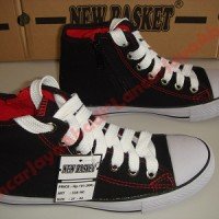 Sepatu Sekolah New Basket NB 388 HC Resleting