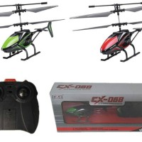 2CH Infrared RC Helicopter Mix red and green