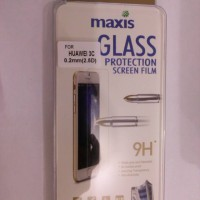 tempered glass Huawei honor 3c antigores kaca uniq maxis