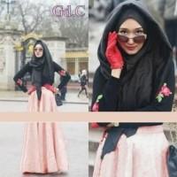 Gamis Wanita / Baju Muslim / Dress Gaun Pesta Dian Rose G-132