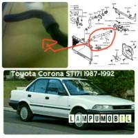 Selang Radiator Atas Toyota Corona Twincam / Salon ST171