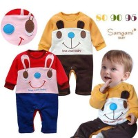 Thick cool baby smile jumper / Romper bayi baby