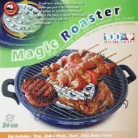 Magic Roaster / Pemanggang Bahan baja dilapisi Porcelain Enamel
