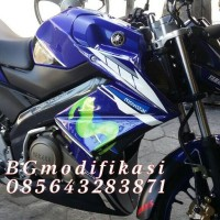 harga Half Fairing New Vixion Model Ninja Z Movistar Edition Tokopedia.com
