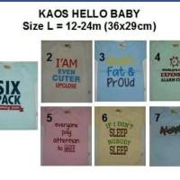 harga Kaos Hello Baby Tokopedia.com