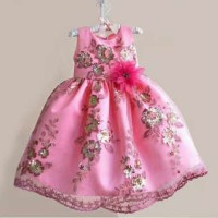harga Baju Anak Import - Dres Pesta Pink Tokopedia.com