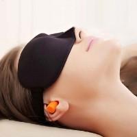 Kacamata Tidur bonus penutup telinga