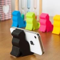 Penyangga Ponsel / Gadget / Alat Makan Berbentuk Kucing Berdiri