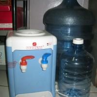 dispenser mini ada air panas + biasa