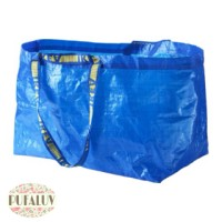 Ikea Frakta Tas Kantong Besar Biru 71l - Tas Belanja - Tas serbaguna