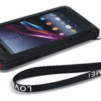 LOVE MEI Powerful Bumper Case for Sony Xperia Z1 L39H