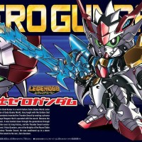 BB 378 LEGEND DEVIL DRAGON BLADE ZERO GUNDAM - BANDAI