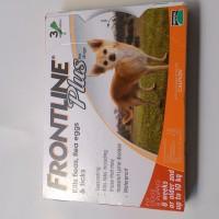 Obat kutu anjing Frontline Plus (Umur 8 minggu / lebih dan berat 10kg)