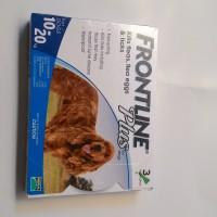 Obat kutu anjing Frontline Plus (berat badan 10 -20 kg)
