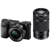 Sony Alpha A6000 Double Kit 16-50mm + 55-210mm