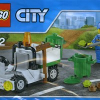 Lego City - 30313 Garbage Truck-Rubbish Bin