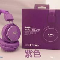 Barang Langka NIA Headphone+MP3 Player+FM Radio (ungu)