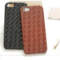 Braided Leather Hard Case For iPhone 4/4s and iPhone 5/5s