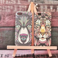 Ethnic Animal Printed Hard Case For iPhone 4/4s, 5/5s & 6/6+