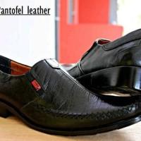 kickers pantofel kulit