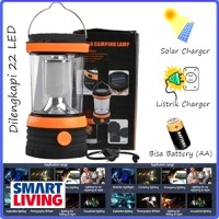 Lampu Lentera camping Charger SOLAR[Tenaga Matahari Listrik Battery]