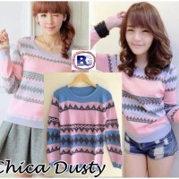 CHICA DUSTY - SWEATER TRIBAL