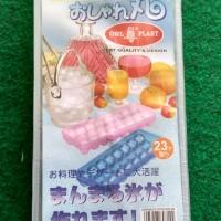 cetakan es telur puyuh kecil asli plastik puding agar telor berlian