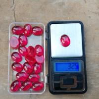 harga Batu Merah Siam Jumboo 32 Crt Tokopedia.com