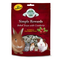 harga Oxbow Simple Reward Baked Treat Cranberry 60gr Snack Tokopedia.com