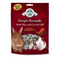harga Oxbow Simple Reward Baked Treat Carrot 60gr Snack Tokopedia.com