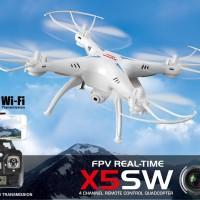 Drone Syma X5SW Explorers 2 Wifi FPV 2.4G W/ 2.0MP Camera RTF