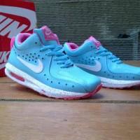 harga sepatu casual wanita nike air max 1 lunar hi women tosca/white/pink Tokopedia.com
