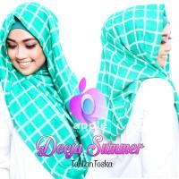 harga Jilbab Hoodie Deeja Summer Tartan Tokopedia.com