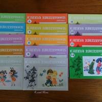 Jual Buku Kristik/Cross Stitch CANNA KRUISSTEEK Set Komplit No. 1-14 Murah