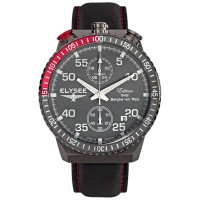 Elysee Male Watches Rally Timer I Jam Tangan Pria - 80517