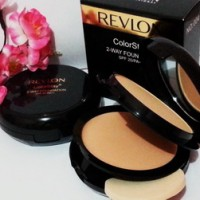 BEDAK REVLON TWC 2in1 - Colorstay 2 Way Foundation Powder Black-Gold